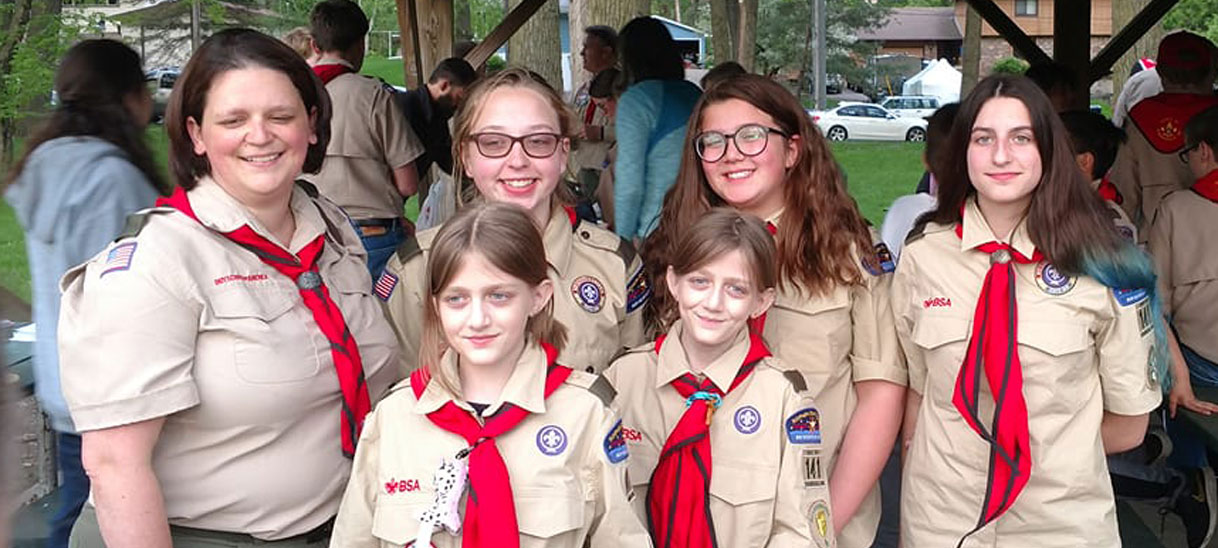 About Scouts BSA Girls Troop 141