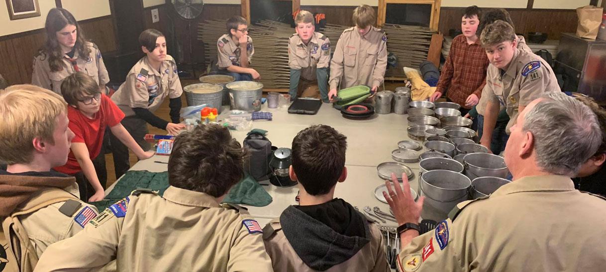 Boys Troop 141 Leadership andResources