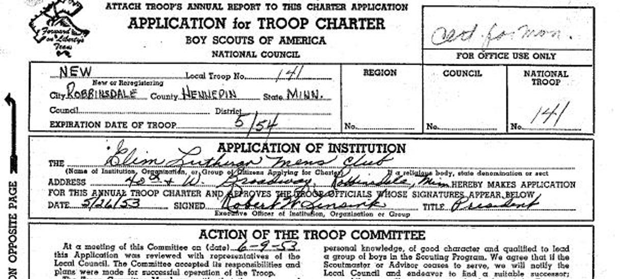 History of Troop141